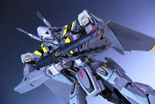 【玩具人'杜少′投稿】DX超合金:等了三年終於再版~超時空要塞 VF-25S 奧茲瑪機