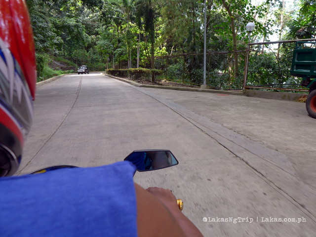 Riding the Habal-habal to Tinago Falls. Iligan City, Philippines
