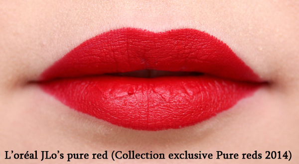 JLo's pure red