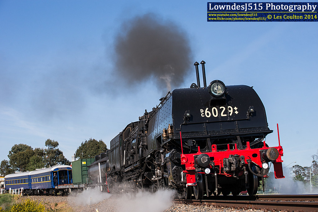 DC6029 at Bungendore by LowndesJ515