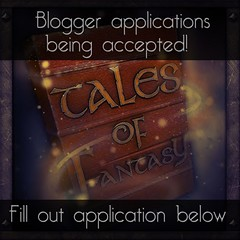 Tales of Fantasy Blogger Applications OPEN!