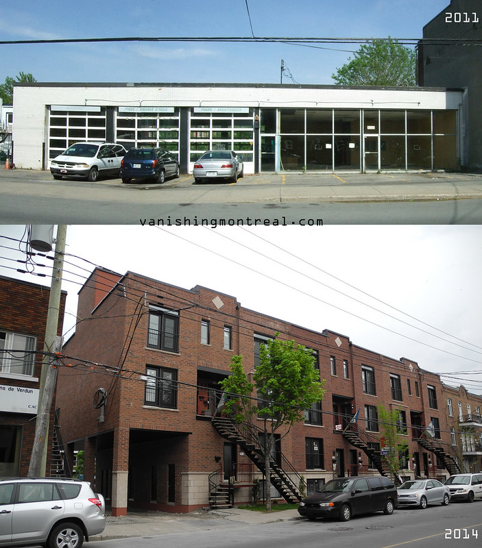 Before / After : Former Verdun car dealership