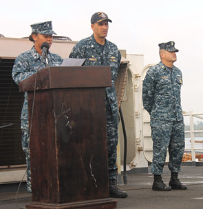 USS Pearl Harbor Crew Celebrates 2014 National Hispanic Heritage Month