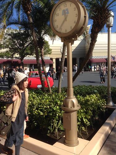 Monsters Inc Street Clock, Tokyo Disneyland 化物株式会社街路時計