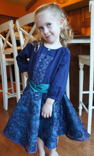 Caitlyn's 5th Birthday Dress