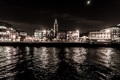 Dublin City And Docklands at Night Ref-100139