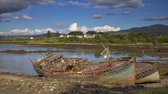 Wrecked Fishing Boats, Salen, Isle of Mull, Scotland