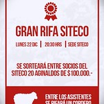 Gran Rifa Siteco.