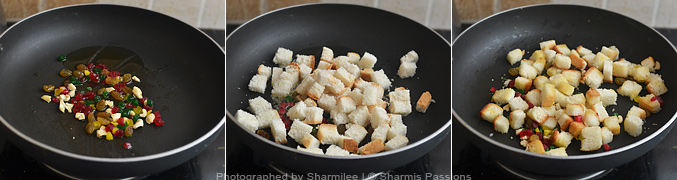 How to Bread Sweet Upma - Step2