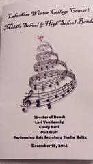 2014 Lakeshore Winter Collage Concert