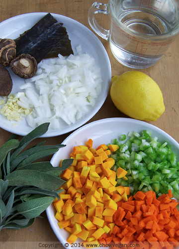 Vegan Gravy Ingredients