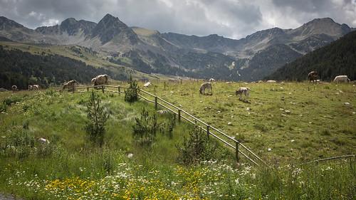 mountains landscape landscapes andorra pyrénées encamp