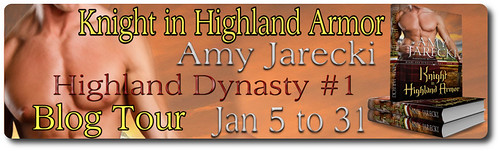 Knight in Highland Armor tour banner