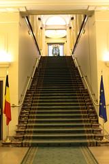 symmetry, architecture, interior design, stairs,