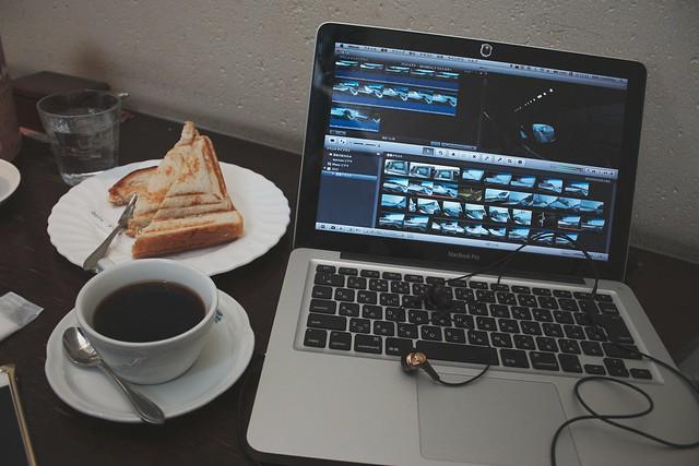 Video editing.