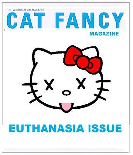 Cat Fancy Magazine 'Put to Sleep'