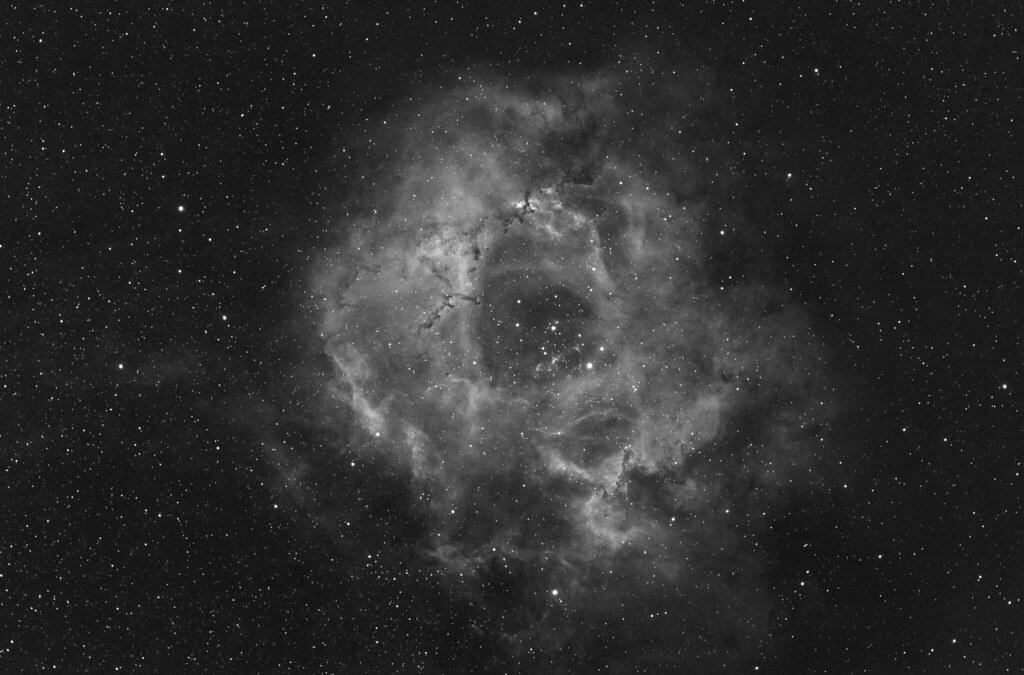 Rosete nebula 550D MONO 14x600 sec 1600 ISO_test2