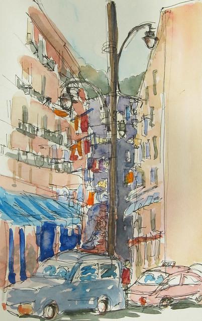 Street scene, Naples, Italy