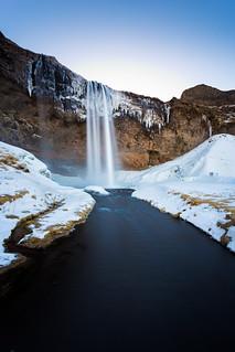 Seljalandsfoss waterfall (Iceland)