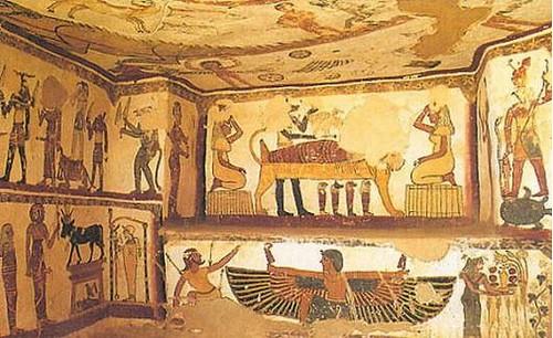 Tombe du prêtre Petosiris – Égypte du dernier millénaire