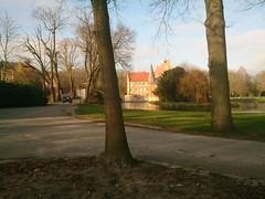 Blick auf Burg Hülshoff bei Havixbeck