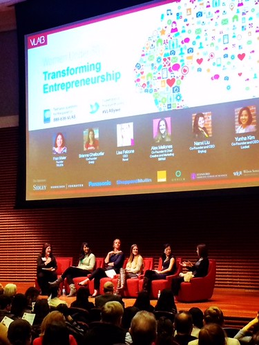 VLAB January 2015: Transforming Entrepreneurship - Women Under 30