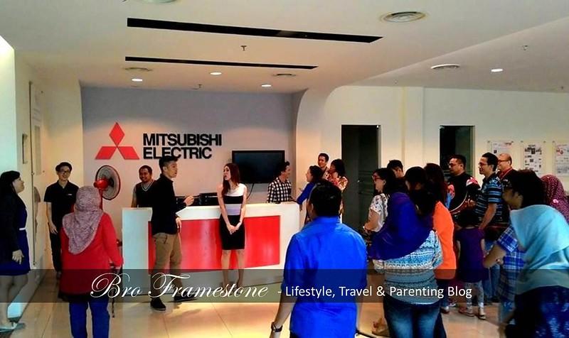 Lawatan Sambil Belajar di Mitsubishi Electric