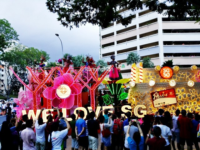 Chingay @ Heartlands 2015 - Opening Float