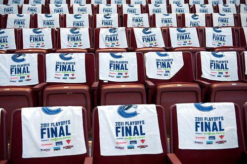 Stanley Cup Final 2011 Towels