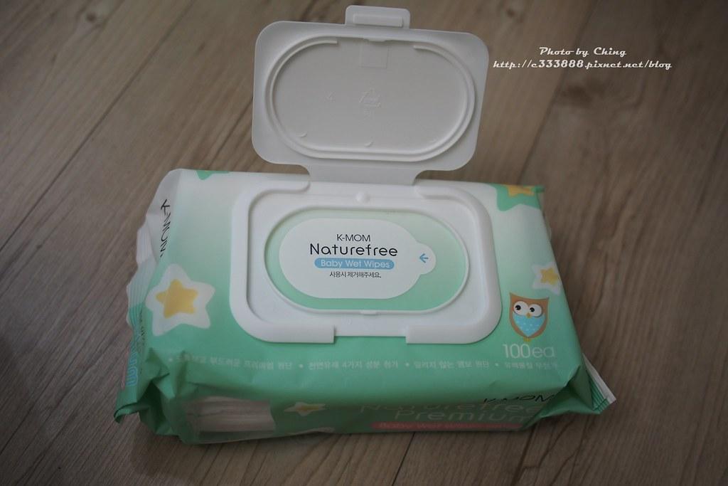 有機自然幼兒濕紙巾(100張) 掀蓋柔花款-2