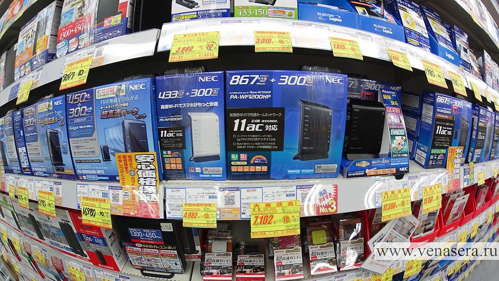 Магазин электроники Акихабара