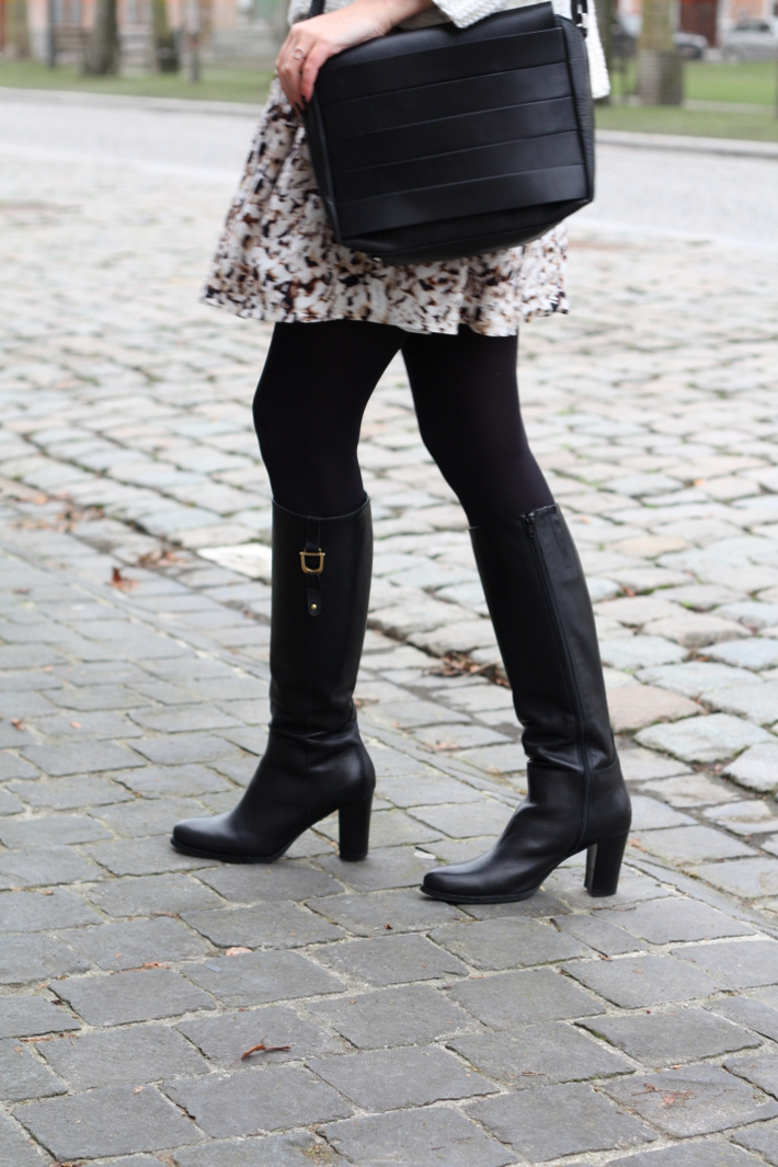 knee boots, and other stories handbag