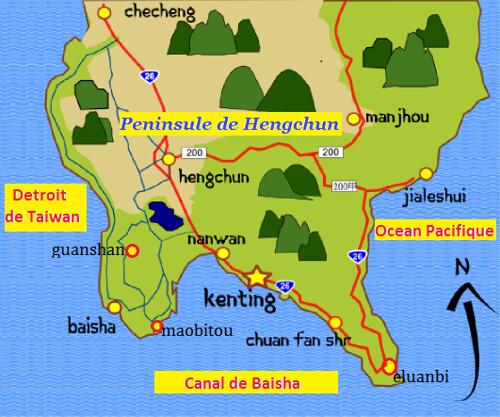 Peninsule de Hengchun