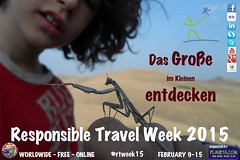 Poster for Responsible Travel Week 2015