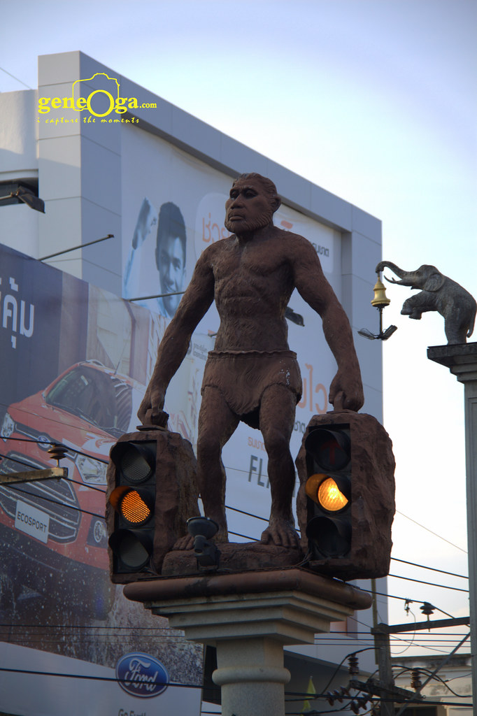 Ape-men Monument, Krabi
