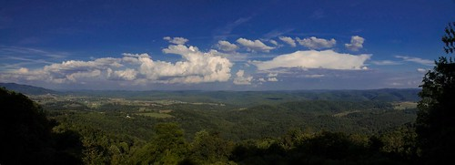 Panoramic at Droop Mountain State Park