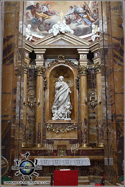Capilla Palafox en la Catedral de de El Burgo de Osma (Soria)