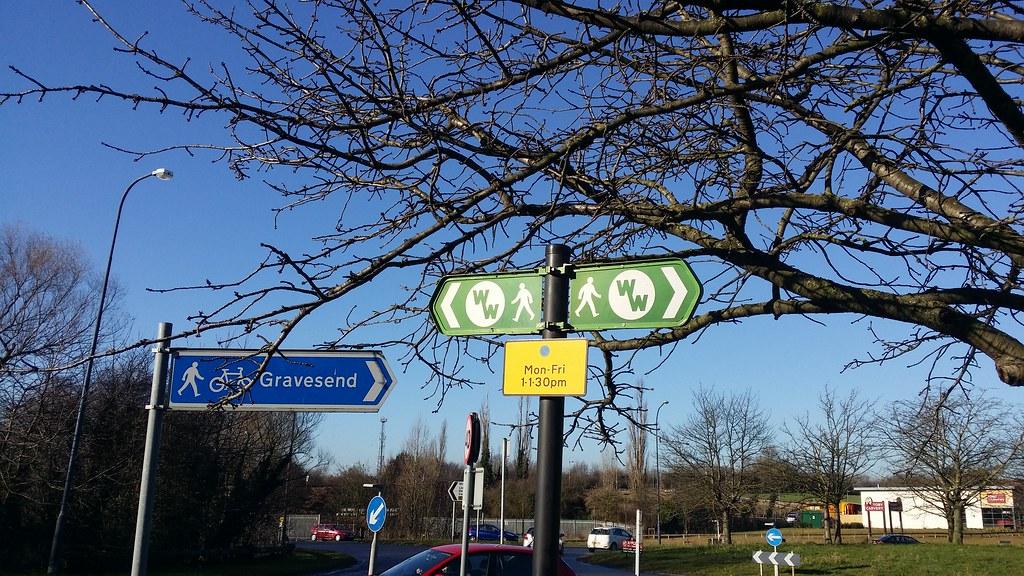 First waymark #Wealdway #sh