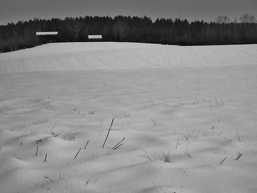 winter snow barn landscape farmville
