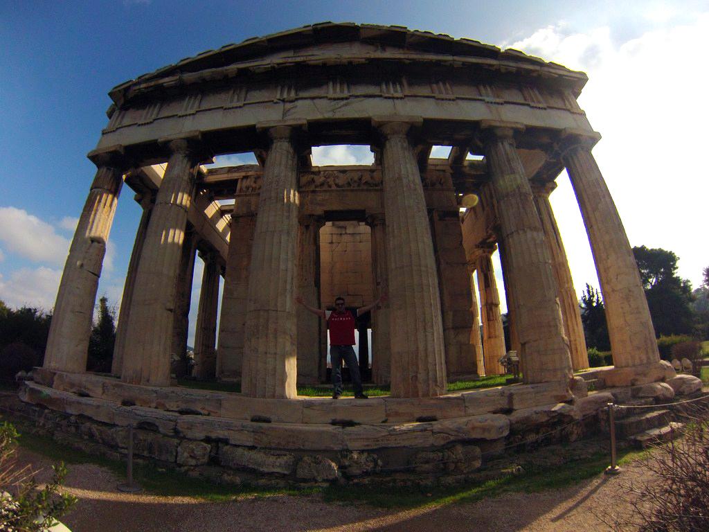 Templo de Efestión, Antigua Ágora atenas en 2 días - 16611997241 bb14a87fa1 b - Qué ver en Atenas en 2 días