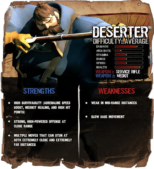 Secret Ponchos: Deserter