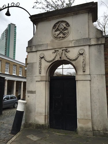 The Colonnade Gate, Once Part of the Deptford Dockyard