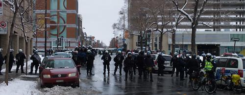 manifestation policière