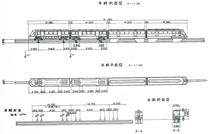 都営モノレール車両