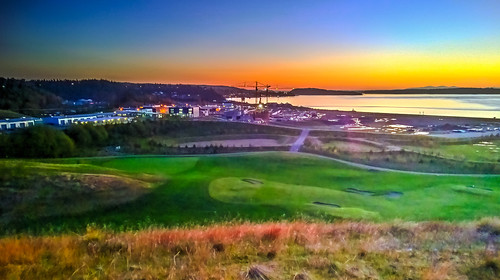 park sunset creek golf bay washington wa tacoma chambers hdr universityplace industrialremnant