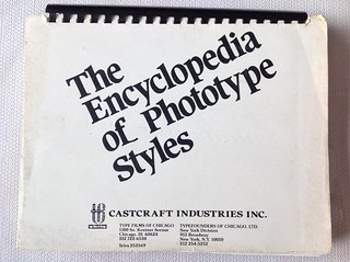 The Encyclopedia of Phototype Styles