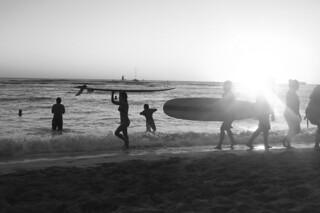 Waikiki Beach - Sunset