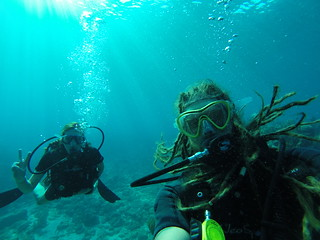 Advance PADI course through Underwater Vision, Utila.
