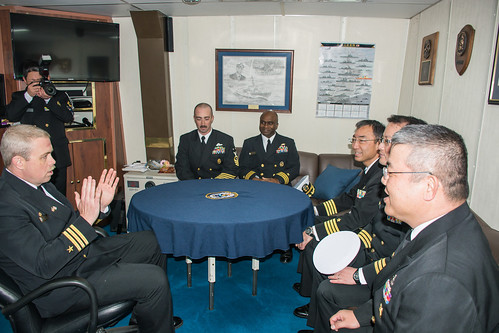 USS Lassen Increases Interoperability with JMSDF