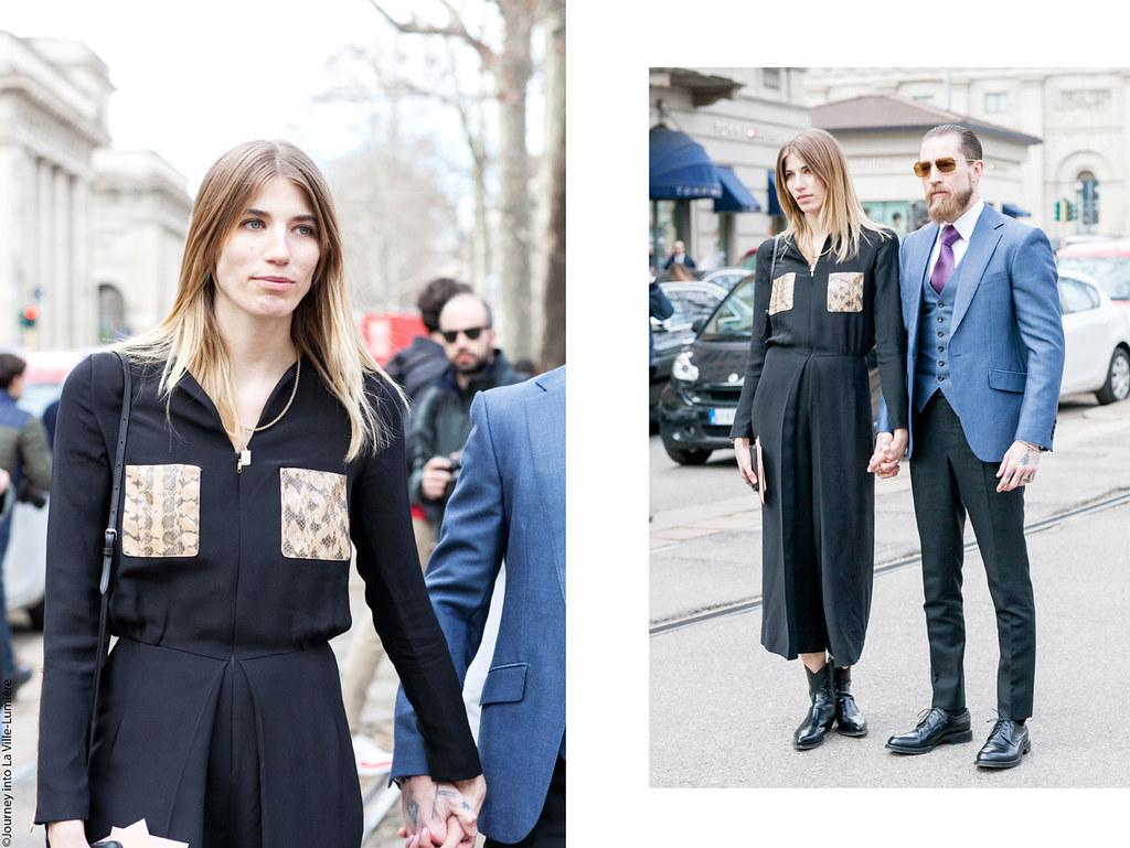 Gucci, Milan Fashion Week, Street style